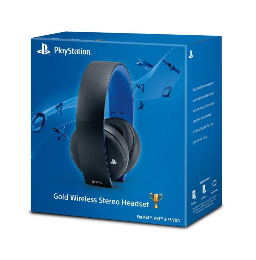 sony gold wireless stereo headset kulaklık