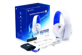 sony gold wireless stereo headset kulaklık